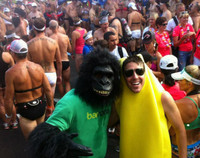Barnana Gorilla Marketing at Ironman_DDJ_3.5.15