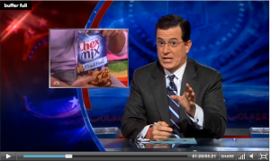 Colbert Product Placement
