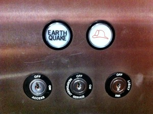 Earthquake button