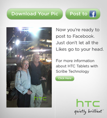 HTC Flyer tablet with Scribe technology