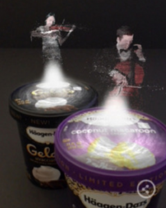 Haagen Dazs Augmented Reality