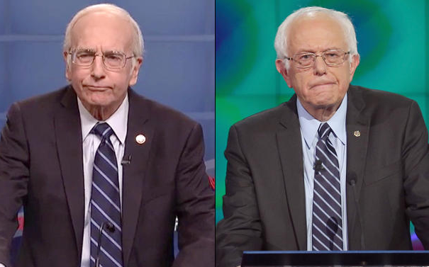 Larry David Plays Bernie Sanders