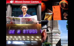 UK National Blood Week Campaign