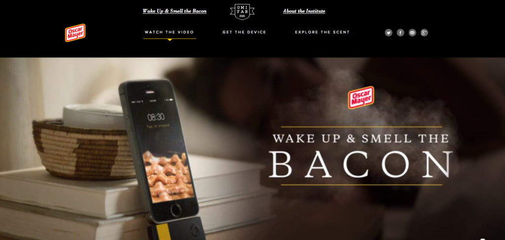 Oscar Mayer Bacon App