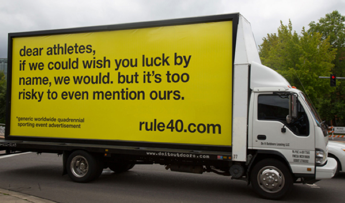 Rule 40 Campaign