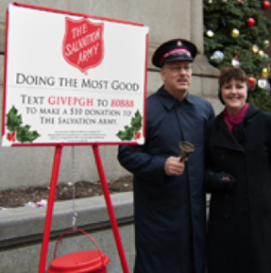 Salvation Army Text Campaign