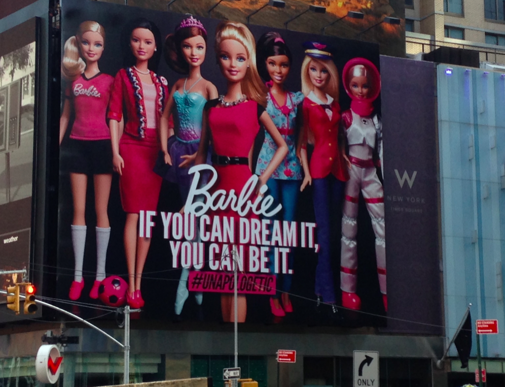 Barbie Times Square