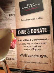 Charity Dining