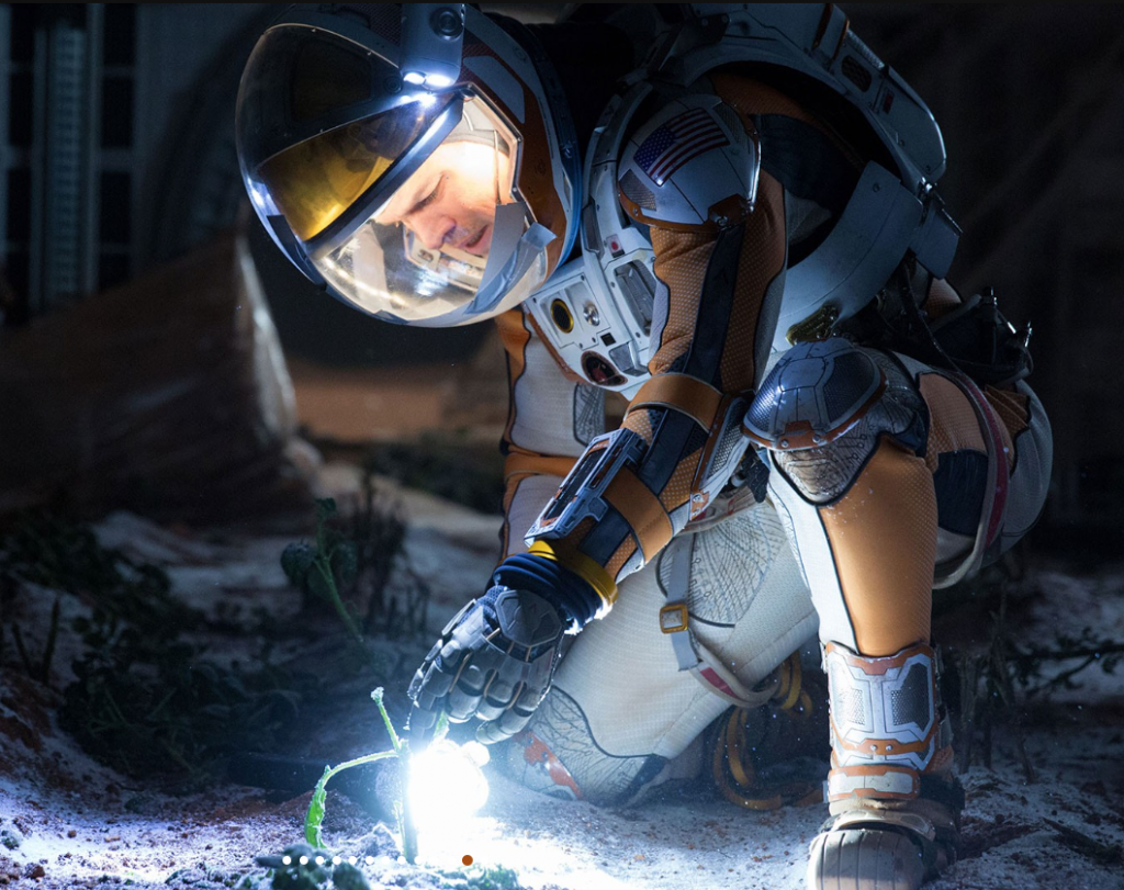 The Martian with Matt Damon