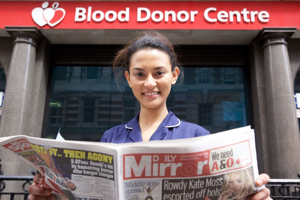 UK Blood Week Campaign