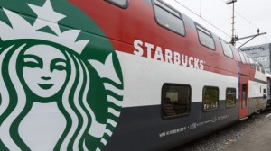 Starbucks Rail Train